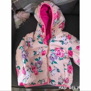 Little Girls 2T reversible Puffer Jacket